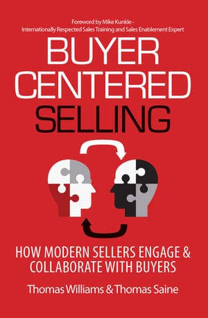 "Cover of ""buyer Centered Selling"" book"