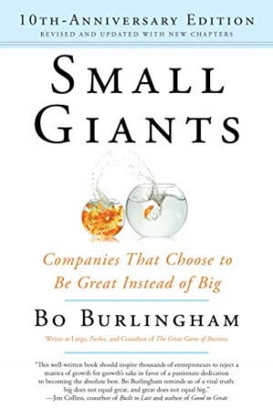 Book cover - Small Giants by Bo Burlingham